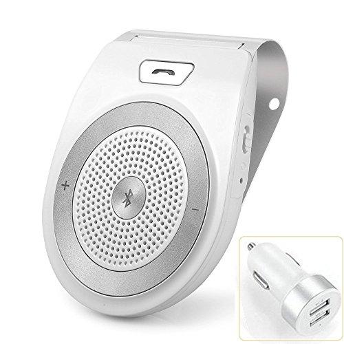 Avantree MULTIPOINT Bluetooth V4.0 Hands-Free Visor Car ...