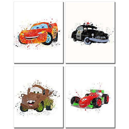 Disney Cars 3 Led Canvas Wall Art 15 75 Inch X 11 5 Inch