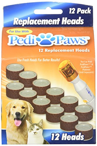 2 Packs Of 12 Pedipaws Replacement Filing Heads Arodai